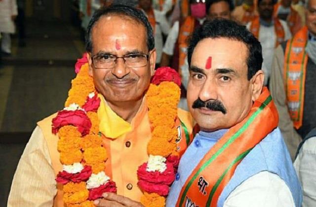 the politics of hindutva will make narottam mishra a bigger leader