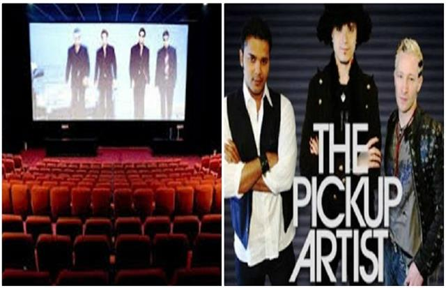 now the pickup artist will be shown in theaters of lucknow