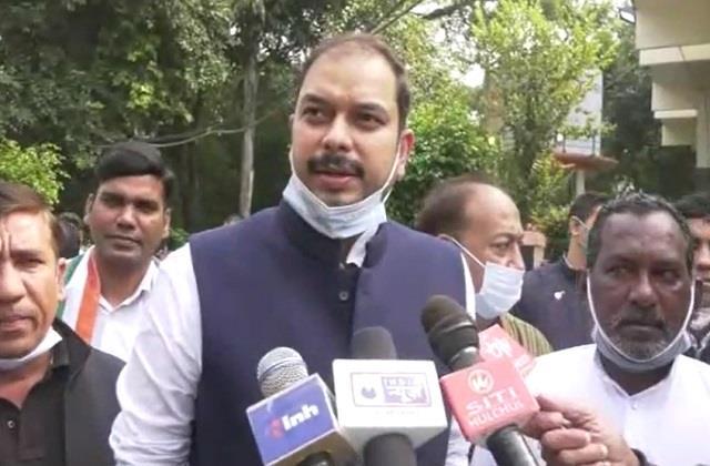 congress mla s serious allegations on municipal corporation