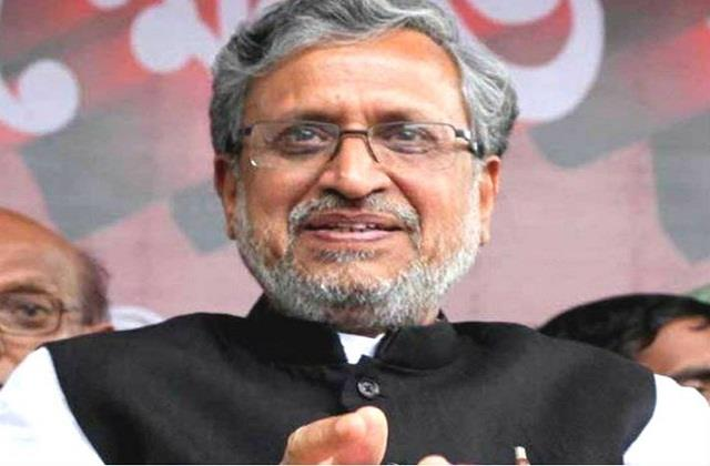 bjp can give place in center by sending sushil modi to rajya sabha