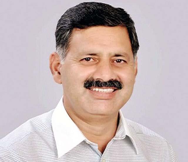 rajesh dharmani target on bjp