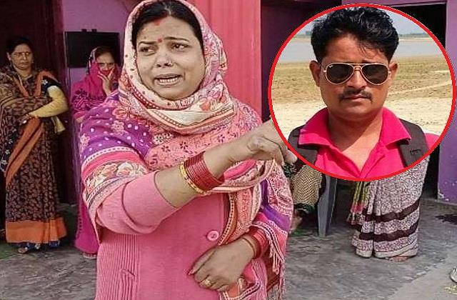 wife of the deceased journalist said  then i will commit suicide with daughters