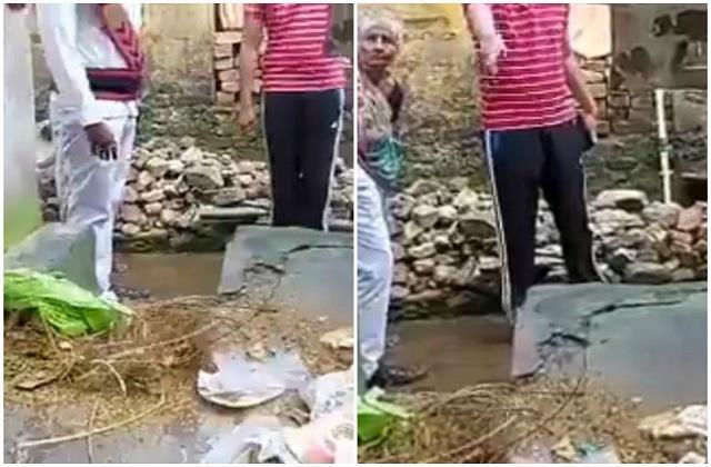 कचरे से लिया कचरे का हिसाब, महिला को रिटर्न गिफ्ट देने पहुंचे सफाई कर्मचारी