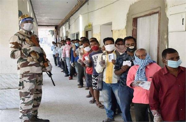 bihar election election battle of second phase ends voting on november 3