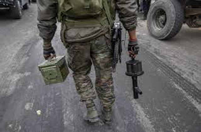 hand grenade recovered in samba jammu and kashmir