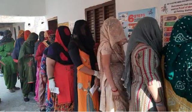 baroda by election turnout 68 percent