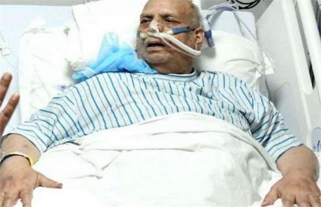 mahant nritya gopal das s condition critical kept on ventilator