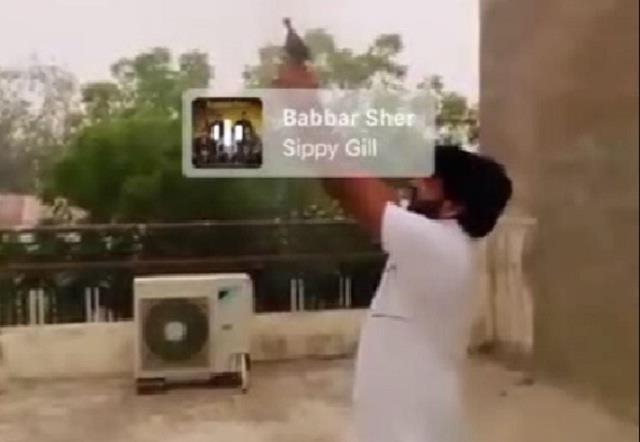 firing video viral in fatehabad