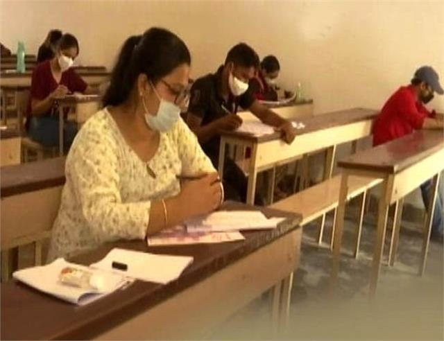 dharmashala corona infected examinee exam