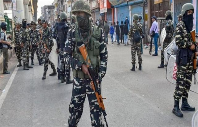 by election paramilitary force will be deployed in deoria