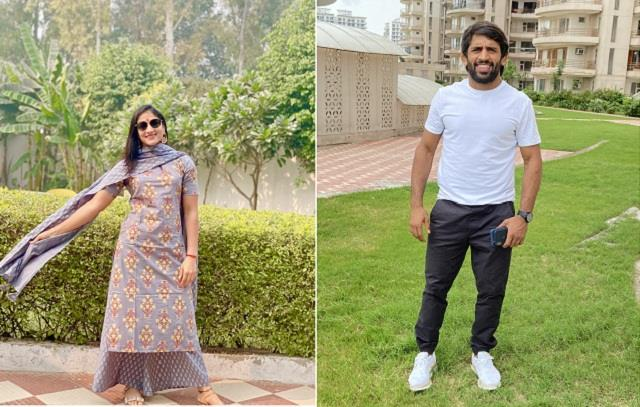bajrang punia and sangeeta phogat marriage on 25 november