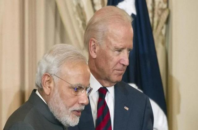joe biden said i am keen to work closely with pm modi to meet the challenges