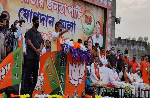 21 leaders of left parties joined bjp in bengal