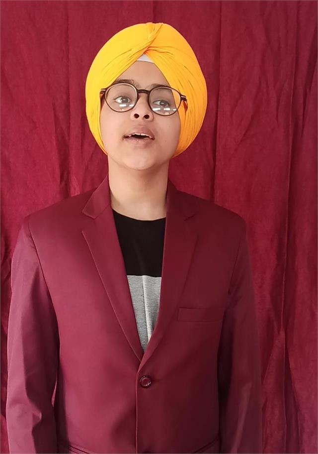 jobanpreet of nsps waved in lssc singing competition