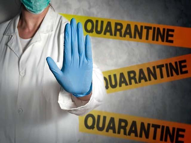 workers will be quarantine on the symptoms of corona and flu