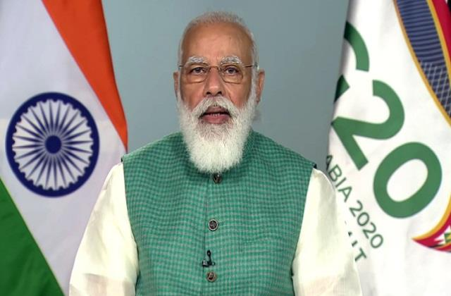 pm modi said  our focus is on saving citizens and economy from epidemic