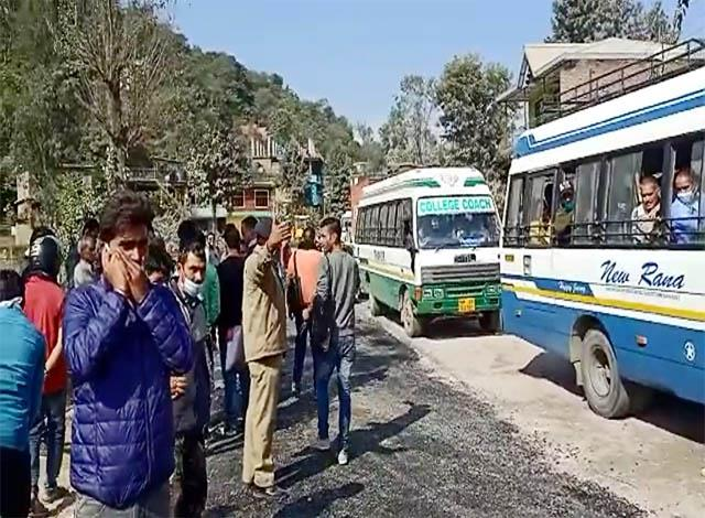 case against 50 about jam the chandigarh manali nh