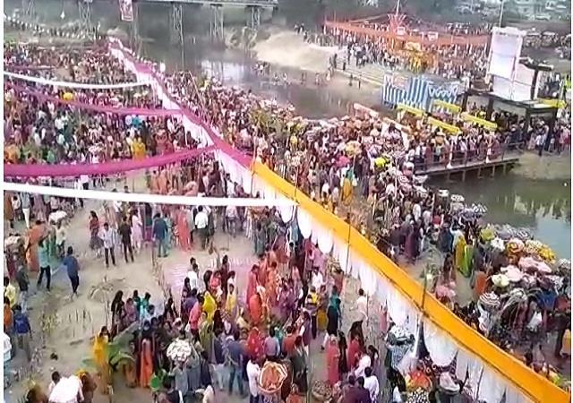 bihar dabangg firing on chhat ghat 5 injured 3 in critical condition