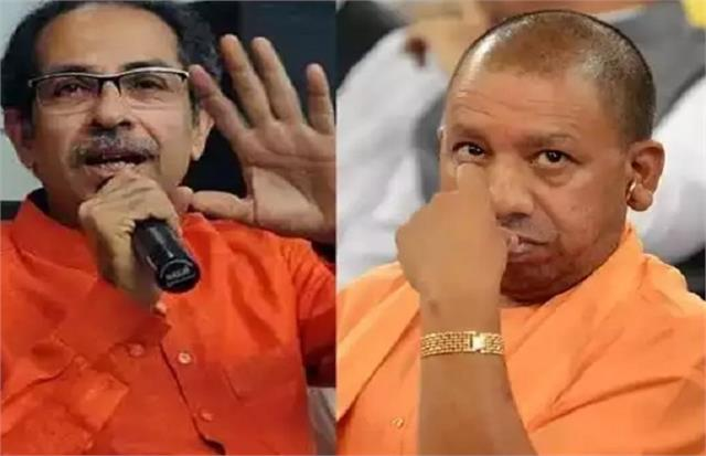 thackeray open challenge to yogi you have the courage film city by taking up