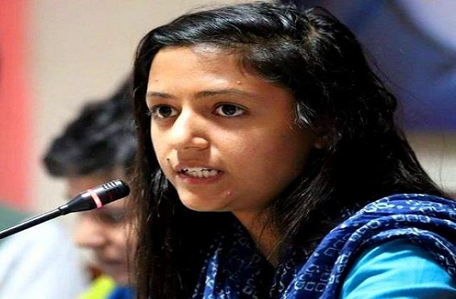shehla father accused my daughter is involved in anti national activities