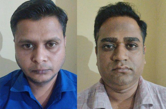2 arrested with fake currency
