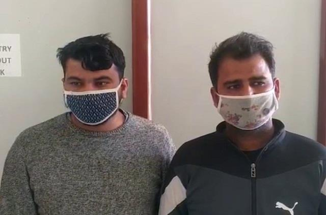 two accused of cheating millions of rupees in a lending company arrested