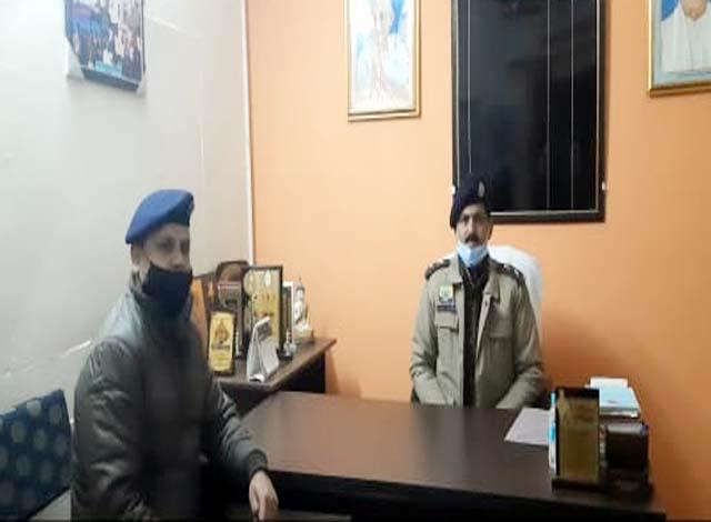 sp sirmour inspected police station