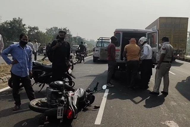road accident in karnal