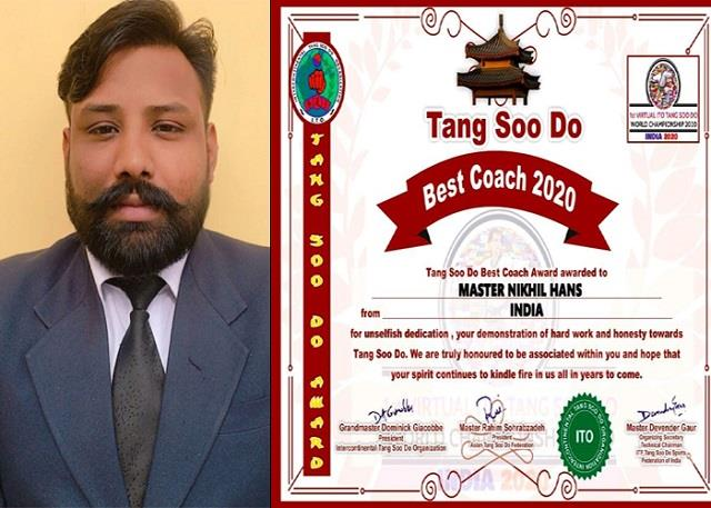 nikhil hans appointed coach of indian tang so team