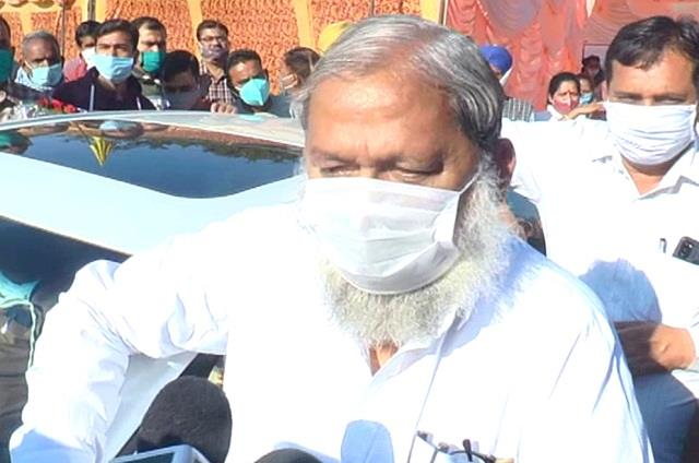 anil vij said he are not in mood for a lockdown in haryana