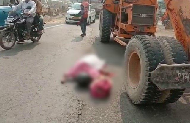 tragic accident woman died on karwa chauth