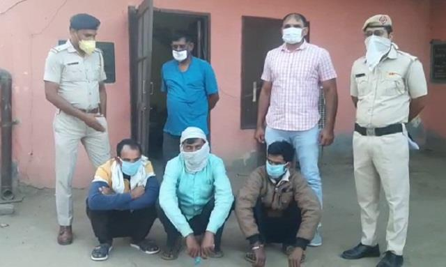 three people murdered langur while drunk police arrested