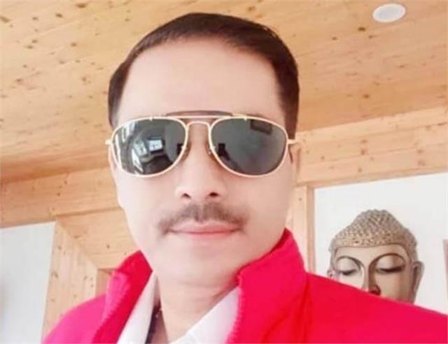sundernagar congress state secretary death