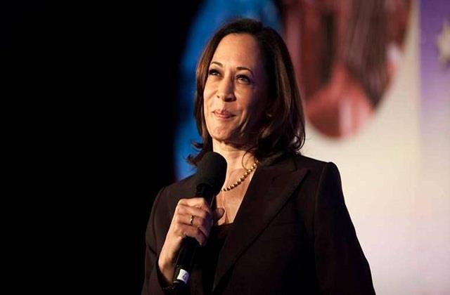 kamala harris created history became the first female vice president