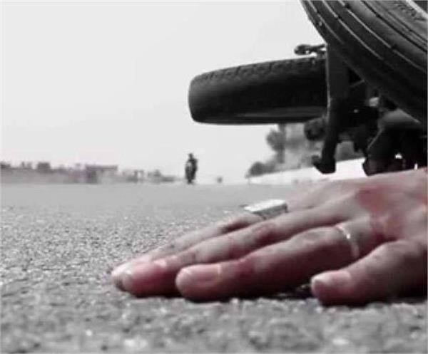 painful bike collided with motorcycle couple and daughter died
