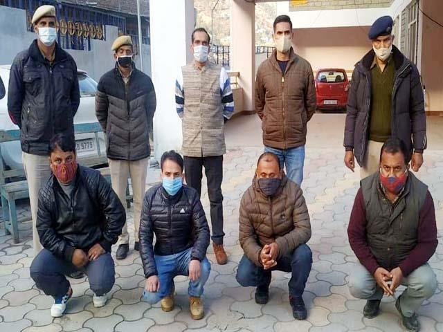 fraud accused arrested in kullu