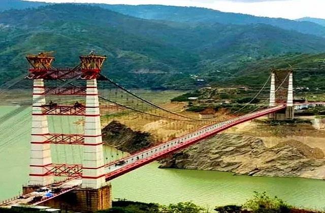 inauguration of country s longest heavy vehicle swing bridge dobra chandhi