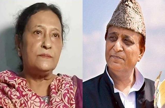 azam khan s wife tajin fatima released from jail after 10 months