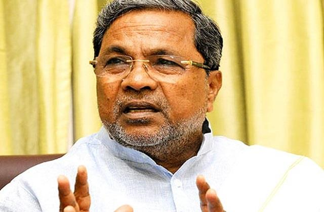 excluding kumaraswamy s tears is not a new thing siddaramaiah