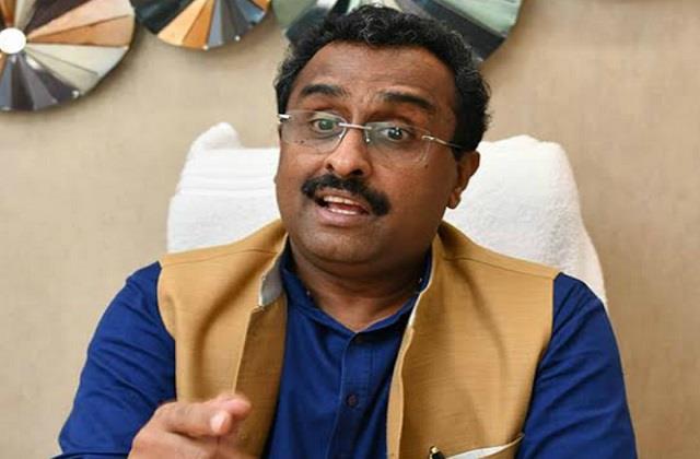 ram madhav still in exile on the rehabilitation of fellow muralidhar