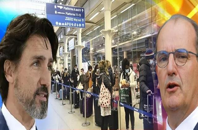 canada saudi halts flights from uk in response to new corona strain