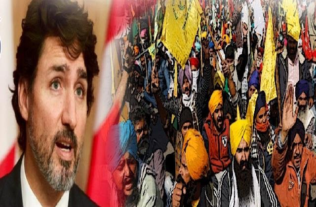 trudeau says canada will always support peaceful protest of india