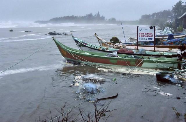 danger of cyclone burevi