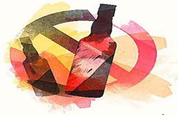 police recovered liquor from confectionery shop