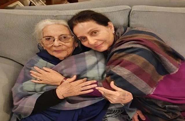 death of captain mother in law sardarni satinder kaur kahlon