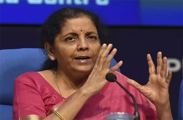 finance minister nirmala sitharaman said condition is improving