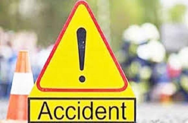 scooter rider injured in car and scooty collision