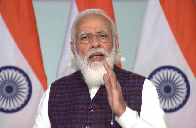 pm modi inaugurated india mobile congress
