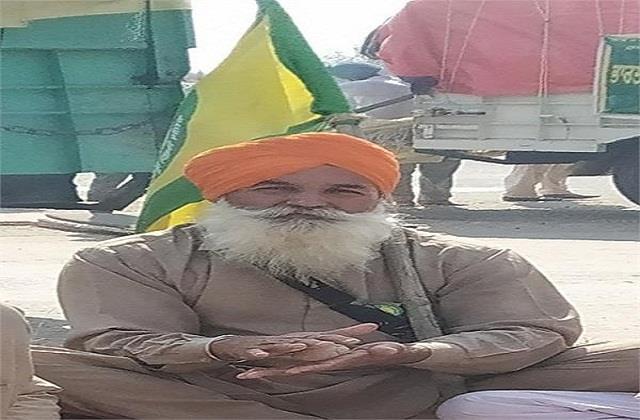 farmer died in kisan andolan