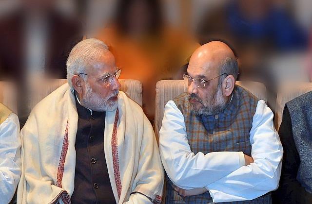 modi shah pair worried farmers  challenge